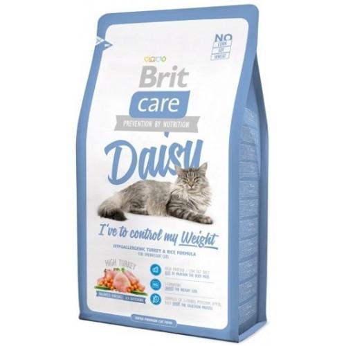 Brit Care Cat 2 kg Daisy для кошек с избыточным весом