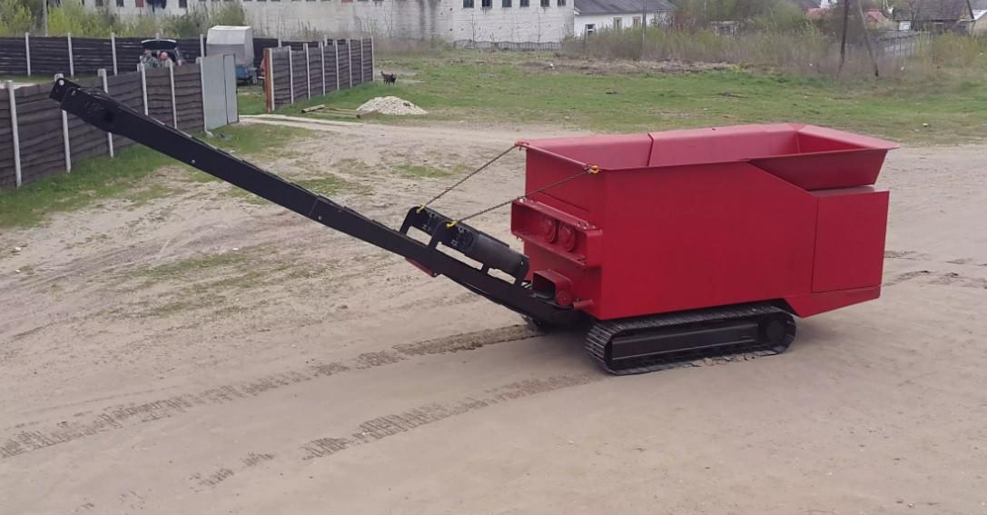 Измельчитель промышленных отходов K Shredder 600