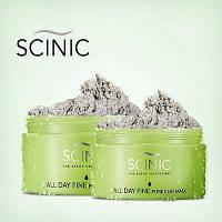Очищающая и стягивающая поры глиняная маска SCINIC All Day Fine Pore Clay Mask