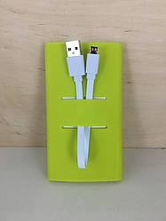 Силиконовый чехол для Xiaomi Power Bank 5000 mAh (Зеленый)