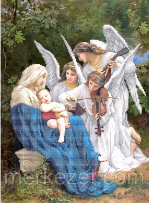 Вышивка песня ангел
