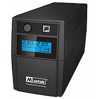 Источник бесперебойного питания Mustek PowerMust 636 LCD (650VA) Line-Interactive Schuko (98-LIC-L0636)