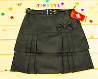 Очаровательная  школьная юбка   в  складочку  на рост 116-158 см