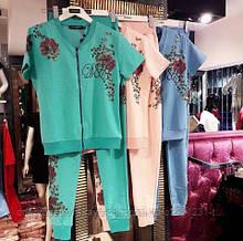 Модный костюм D&G люксовая турция бренд
