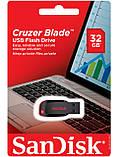 Флешка Sandisk USB Cruzer Blade 32Gb, фото 3