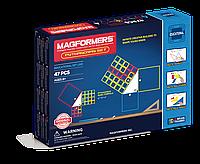 Магнитный конструктор Magformers Пифагор, 47 элементов