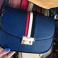 Женский оригинальный клатч  с украшением (3 цвета)