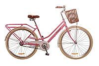 """Велосипед 28"""" DOROZHNIK COMFORT FEMALE 2017 (Персиковый)"""