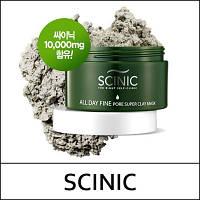 Супер очищающая маска на основе амазонской глины SCINIC All Day Fine Pore Super Clay Mask