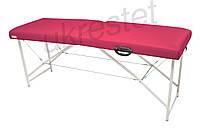 Lux Массажный стол-кушетка Неоновый розовый