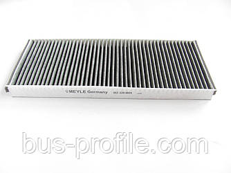 Фильтр салона (угольный) на MB Sprinter, VW LT 1996-2006 — MEYLE (Германия) — 0123200014