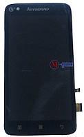 Дисплейный модуль Lenovo A398t+ черный