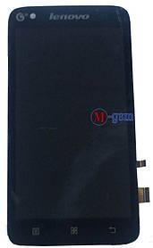 LCD модуль Lenovo A398t+ черный