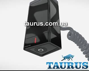 Чёрный электроТЭН TERMA ONE Black профиль трапеция T36х40: регулятор 45 и 60С; +таймер 2ч., под пульт ДУ + LED
