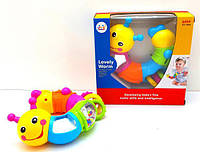 Развивающая игрушка Веселая гусеница 786B Huile Toys