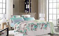 Семейный комплект постельного белья сатин (7323) TM KRISPOL Украина
