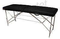 Premium Массажный стол-кушетка Черный
