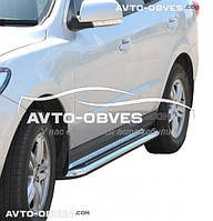 Подножки для Hyundai Santa Fe, Ø 42 \ 51  \ 60 мм
