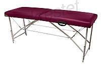 Premium Массажный стол-кушетка Бордовый