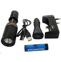 Фонарь светодиодный подводный Bailong BL-8771 Police CREE+Li-ion 4200mAH аккумулятор