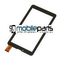 """Оригинальный Сенсор (Тачскрин) для планшета 7"""" X-digital TAB 711 3G(Тип2) (184x104,30pin) толщина 1мм (Черный)"""