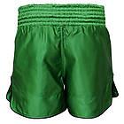Шорти для тайського боксу (Muay Thai) FIREPOWER ST-17 Green, фото 3