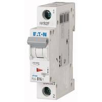 Автоматический выключатель Eaton (Moeller) PL6-C16/1