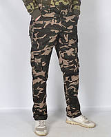 """Камуфляжные мужские штаны в стиле милитари """"Loshan"""" - модель 145-1"""