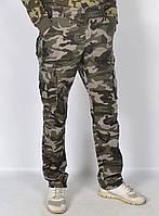 """Камуфляжные мужские штаны в стиле милитари """"Loshan"""" - модель 145-2"""