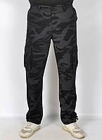 """Камуфляжные мужские штаны в стиле милитари """"Loshan"""" - модель 145-3"""
