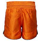Шорти для тайського боксу (Muay Thai) FIREPOWER ST-17 Orange, фото 3