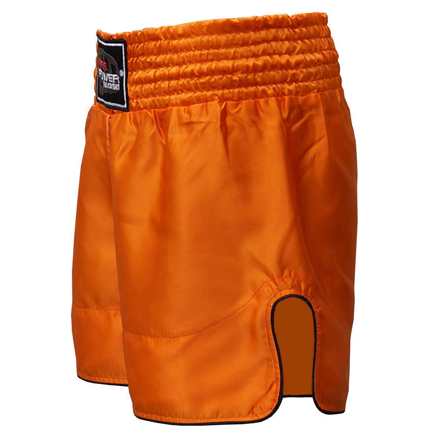 Шорти для тайського боксу (Muay Thai) FIREPOWER ST-17 Orange