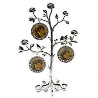 Фоторамка генеалогическое дерево на 3 фото, подарок для родителей