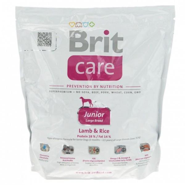 Brit Care Junior Large Breed Lamb & Rice  1 kg для щенков гигантских пород