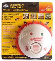Отпугиватель тараканов и насекомых Aokeman Sensor AO-201A