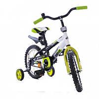 Детский велосипед Azimut Stitch 16 салатовый