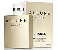 Мужская туалетная вода Chanel Allure Homme Edition Blanche (Шанель Аллюр Хомм Эдишн Бланш) .элитная парфюмерия