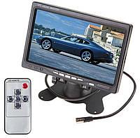 Монитор 7 дюймов в авто. Для камеры заднего/переднего вида