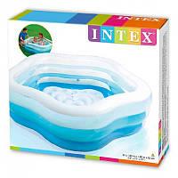 Надувной бассейн 56495 Intex (185х180х53 см), фото 1