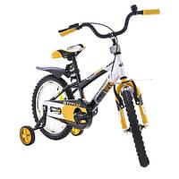 Детский велосипед Azimut Stitch 16 оранжевый