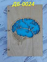 Блокнот №7 из дерева, А5 100 листов, фото 1