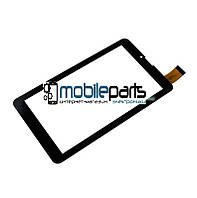"""Оригинальный Сенсор (Тачскрин) для планшета 7"""" XCL-S70025K-2.0 (184x104мм,30 pin) толщина 1мм (Черный)"""