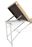 Tpio Lux Массажный стол-кушетка Бежевый