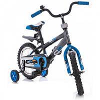 Детский велосипед Azimut Stitch 16 синий