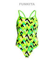 Сдельный купальник для девочек Funkita Tiptonic FS11, фото 1