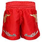 Шорты для тайского бокса (Muay Thai) FIREPOWER ST-20 Red, фото 3