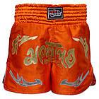 Шорты для тайского бокса (Muay Thai) FIREPOWER ST-20 Orange, фото 2