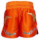 Шорты для тайского бокса (Muay Thai) FIREPOWER ST-20 Orange, фото 3