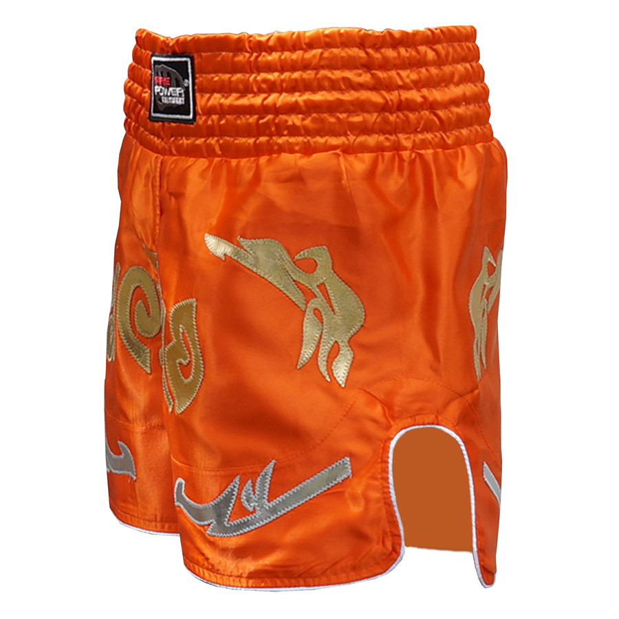 Шорты для тайского бокса (Muay Thai) FIREPOWER ST-20 Orange