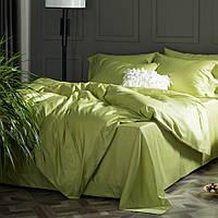 Комплект постельного белья сатин однотонный Shadow Lime